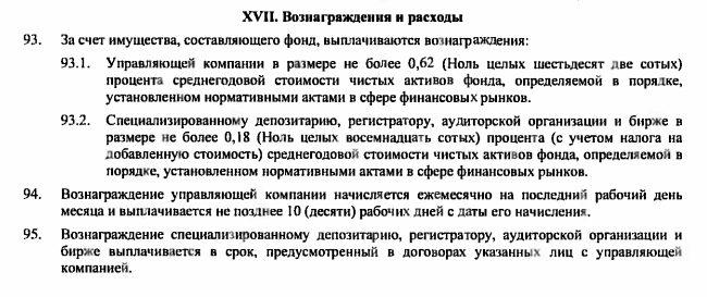 Комиссия VTBA