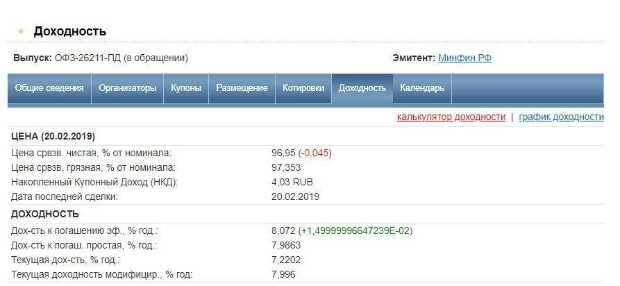 ОФЗ-26211-ПД