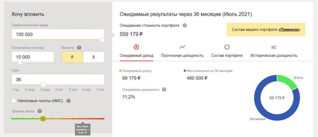 Портфель Яндекс.Yammy 2