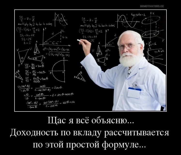 Калькулятор вклада Промсвязьбанка