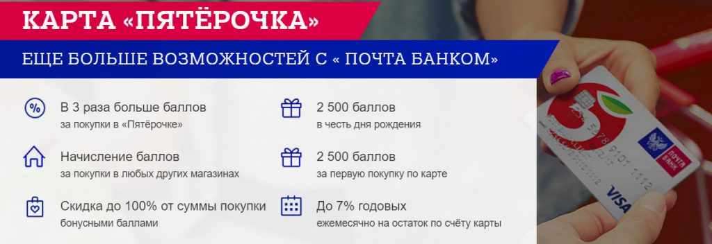 Пятерочка Почта Банк